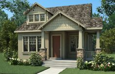 craftsman style house exterior | Claybourne Craftsman home design for new homes in Utah