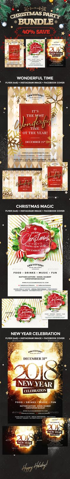Christmas Flyer Template, Christmas Templates, Christmas Design, Christmas Holidays, Holiday Fun, Winter Holiday, Apples To Apples Game, New Years Poster, Christmas Invitations