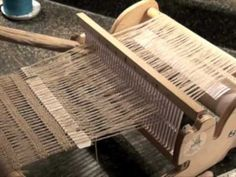 This video shows to weave two different decorative hemstitches on a Rigid Heddle Loom (or any loom) You can see a draft of a towel woven on a 4-shaft loom wh...