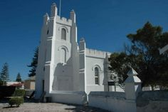 Robben Island Garrison Church Church Building, Unique Architecture, Heritage Site, Cape Town, South Africa, Buildings, African, Island, Mansions