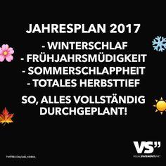 JAHRESPLAN 2017