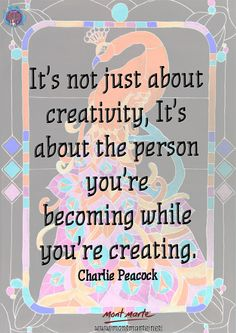 Quote by Charlie Peacock. www.montmarte.net