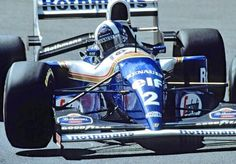 David Coulthard in a Williams-Renault at the 1994 Belgian Grand Prix. E Sport, Sport Cars, Race Cars, Damon Hill, F1 Racing, Drag Racing, F1 Motor, David Coulthard, Belgian Grand Prix