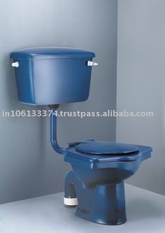 Merveilleux Interesting Blue Water Closet