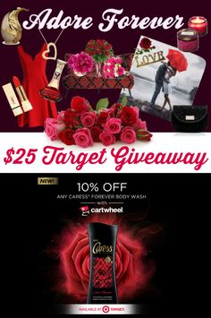 What would you spend a $25 Target Gift Card on?  Enter my  Caress Love Forever Giveaway & you might win! How to enter: http://freebies4mom.com/forever AD (ends April 25, 2015)