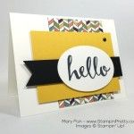 """Say """"Hello"""" to Another Stampin' Up! Sneak Peek"""