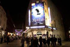 Matilda: Opening Night -- the theater! Theatre Nerds, Theater, Royal Shakespeare Company, London Theatre, Night Photos, Opening Night, Matilda, This Is Us, Musicals