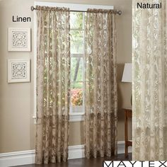 Maytex Pamela 84-inch Window Panel