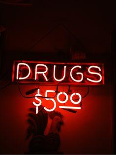 Drugs $5.00