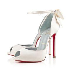 White, Neutral & Metallic Wedding Shoes 2013 - FLARE