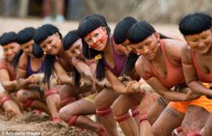 Black satino's Blog: Forget the World Cup or the Olympics... Brazil plays host to colorful celebration of indigenous sports