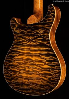Paul Reed Smith PRS Private Stock 5885 Archtop II Tiger Eye Glow | eBay