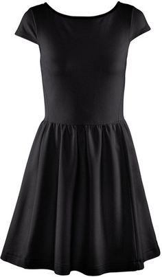 A simple black dress