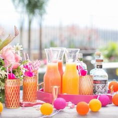 Warm weather and pool parties are finally here! Here's a vibrant and charming celebration you can throw for all your girlfriends.