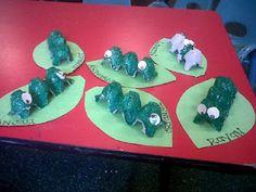 great spring craft for preschoolers !! caterpillars to butterflies!