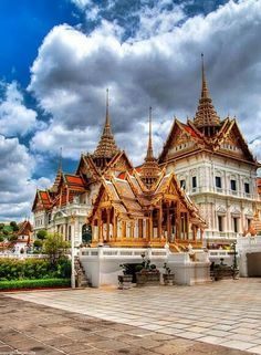 """""""Temple of the Emerald Buddha"""" Wat Phra Kaew from Thailand"""