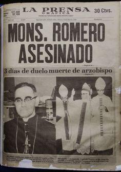 Monseñor Romero: Ayer , hoy y siempre en El Salvador.