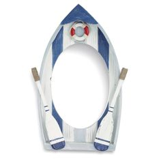 Beach Bathroom Theme - Nautical Boat Mirror