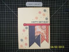 ♥ LOVE the banners! This card is in a contest on my blog - check it out today - Contest ends April 5! - Close to my Heart - CTMH