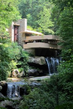 Falling Water. Architect, Frank Lloyd Wright