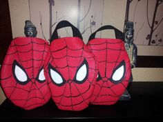 Hey, I found this really awesome Etsy listing at https://www.etsy.com/listing/168992170/spiderman-party-candy-favor-bags