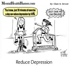 fitness humor | ... Survivor asked me – How Much Do You Exercise? | Mental Health Humor