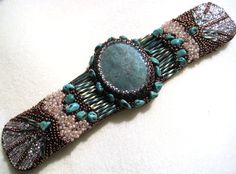 Bead Embroidery by Sharon A. Kyser
