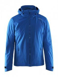 CRAFT ISOLA JACKET Vattert vind- og vanntett jakke med helskortlomme på armen. - VAttert, stilren skijakke- Integrert snølås- To lommer på arm- Vannsøyle 15000, Pust 10000 Kvalitet: 100% Polyester Fun Crafts, Hooded Jacket, Hoods, Rain Jacket, Windbreaker, Raincoat, Sport, Products, Fashion