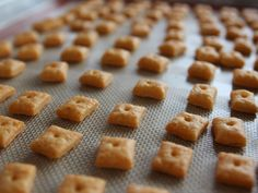 Homemade Cheddar Crackers recipe from Ree Drummond via Food Network