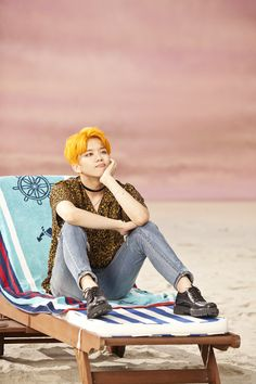 Young Jae - That's My Jam. Luv his bright orange hair!