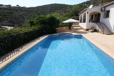 private swimming pool jalon valley property for sale spain