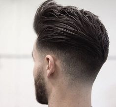 Classic Fade Hairstyle hair hair ideas hairstyles hair pictures men hairstyles men's hairstyles fade hairstyles mens hairstyles