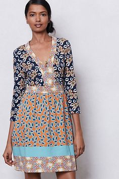 Fables Print Dress #anthropologie