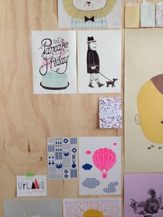 Posters by All Things We Like @flavourites live @papieratelier #happymakersblog #flavlive www.allthingswelike.com