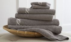 Spa Egyptian Quality Cotton Embroidered Chain 6 Piece Towel Set