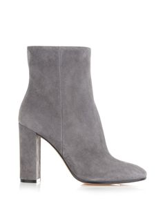 Rolling suede ankle boots | Gianvito Rossi | MATCHESFASHION.COM US