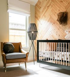 Rustic, masculine and seriously such a cool space. We dig that herringbone wood accent wall paired with one of our best-selling cribs in BLACK. TAP for deets - this crib is shipping NOW! Furniture, Nursery Bedding, Purchase Furniture, Herringbone Wood, Wood Accent Wall, Furniture Collections, Convertible Crib, Cribs, Babyletto