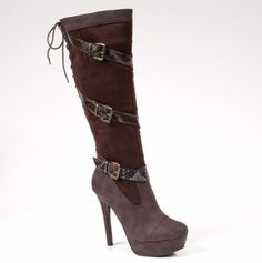 Too Vibrate Heel Boot - Starting at $7.50: Ladies Boots - Events