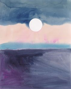 Moonrise by Emily Proud on Artfully Walls