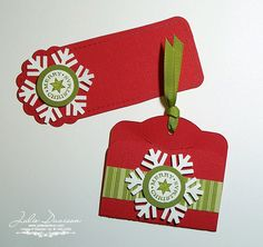 Julie's Stamping Spot -- Stampin' Up! Project Ideas Posted Daily: Christmas Gift Tags