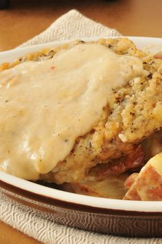 The Best Southern Country Fried Steak and Milk Gravy Recipe