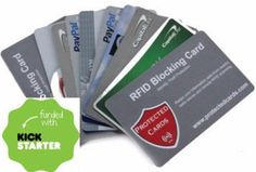 Protected Cards RFID Blocking Cards stops nearby devices from stealing your credit card personal info. Inexpensive way to stop identity theft from happening to you Rfid Blocking Wallet, Identity Theft, Card Wallet, Carbon Fiber, Cards, Etsy, Wallets, Gift Ideas, Sleeve