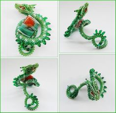 Green dragonsnake by Rrkra.deviantart.com on @deviantART