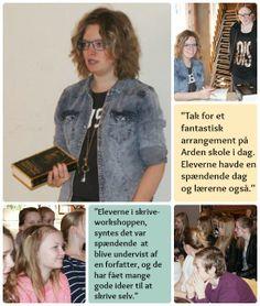 Foredrag, fanselfies og forfatterspirer ~ Lene Dybdahl