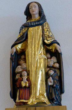 Mariabeeld, Abdijkerk Maria Laach