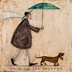 Walking the Sausage by Sam Toft