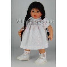 POUPEE MÜLLER WICHTEL WANDA - poupée de collection de Rosemarie Müller