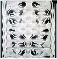Knitting Graph Paper, Knitting Charts, Knitting Machine Patterns, Filet Crochet Charts, Lace Knitting Patterns, Knitting Yarn, Embroidery Patterns, Easy Knitting, Crochet Rug Patterns
