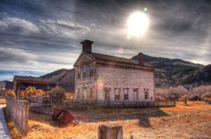 Bannack Montana was named after a local Indian nation. After its founding in 1862 it operated as a Montana gold mining town for just over a hundred years before the last residents abandoned it.