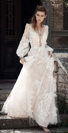 Featured Dress: Costarellos; Wedding dress idea.
